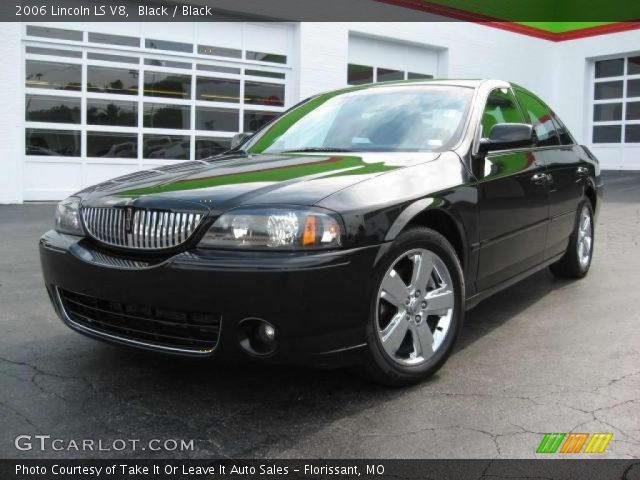 black 2006 lincoln ls v8 black interior vehicle archive 14720258. Black Bedroom Furniture Sets. Home Design Ideas