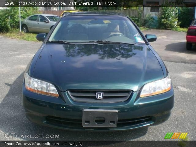1998 honda accord lx v6 coupe new dark green pearl ivory photo 1 apps directories