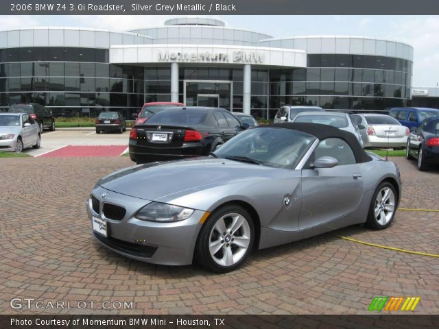 silver grey metallic 2006 bmw z4 roadster black. Black Bedroom Furniture Sets. Home Design Ideas