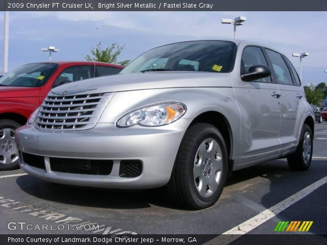 bright silver metallic 2009 chrysler pt cruiser lx. Black Bedroom Furniture Sets. Home Design Ideas
