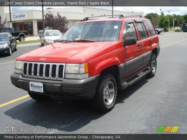 Flame red 1997 jeep grand cherokee laredo agate black - 1997 jeep grand cherokee interior ...