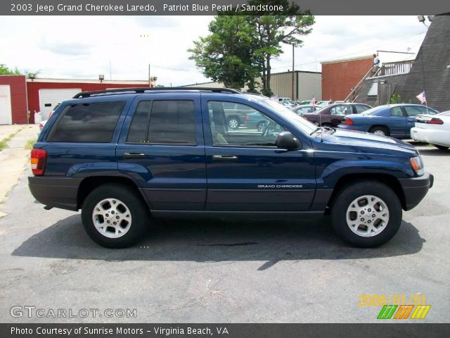 Jeep Patriot 6 Cylinder 2003 Jeep Grand Cherokee Laredo in Patriot Blue Pearl. Click to see ...