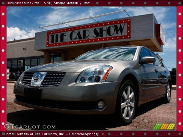 smoke metallic 2005 nissan maxima 3 5 sl frost. Black Bedroom Furniture Sets. Home Design Ideas