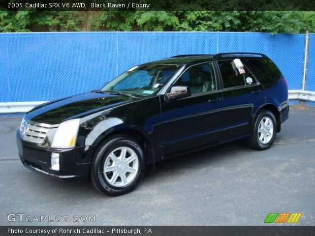 2005 Cadillac SRX V6 AWD in Black Raven