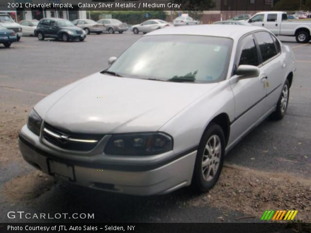 galaxy silver metallic 2001 chevrolet impala medium gray interior vehicle. Black Bedroom Furniture Sets. Home Design Ideas
