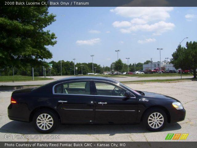 Black Onyx - 2008 Buick Lucerne CX - Titanium Interior | GTCarLot.com ...