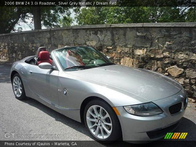silver grey metallic 2006 bmw z4 roadster dream. Black Bedroom Furniture Sets. Home Design Ideas