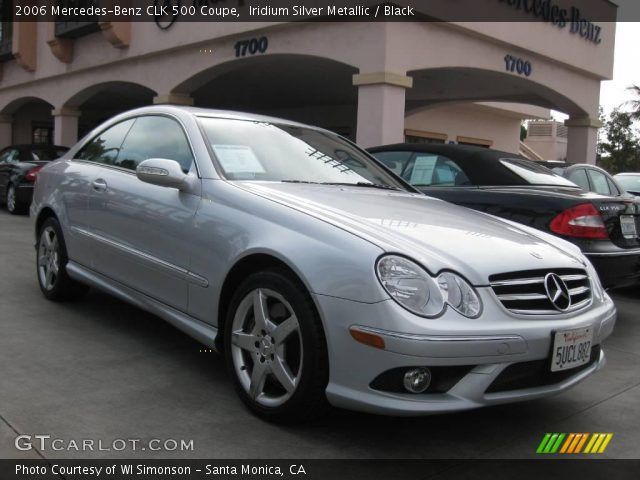 Iridium silver metallic 2006 mercedes benz clk 500 coupe for 2006 mercedes benz clk 500