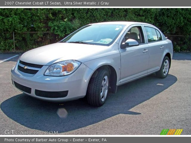 ultra silver metallic 2007 chevrolet cobalt lt sedan. Black Bedroom Furniture Sets. Home Design Ideas