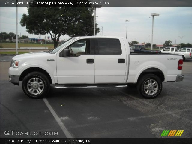 2004 ford f150 lariat supercrew 4x4 in oxford white click to see. Black Bedroom Furniture Sets. Home Design Ideas