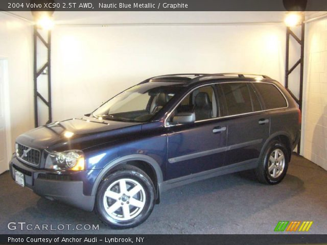 nautic blue metallic 2004 volvo xc90 2 5t awd graphite interior vehicle. Black Bedroom Furniture Sets. Home Design Ideas