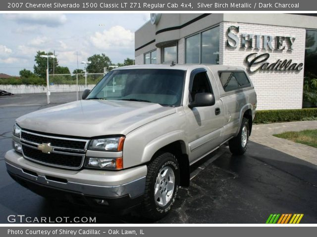 2007 Chevrolet Silverado 1500 Classic LT Z71 Regular Cab 4x4 in Silver Birch Metallic