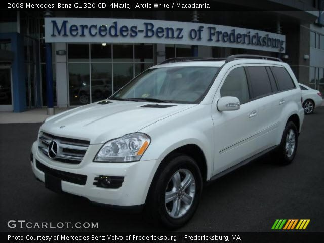 Arctic white 2008 mercedes benz gl 320 cdi 4matic for 2008 mercedes benz gl320 cdi 4matic