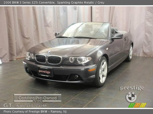 2006 BMW 3 Series 325i Convertible in Sparkling Graphite Metallic