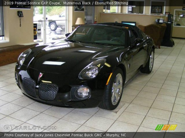 2009 Pontiac Solstice GXP Coupe in Mysterious Black