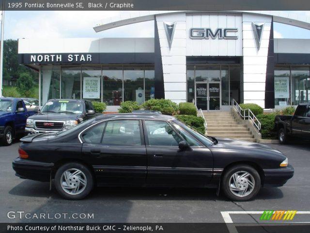 Black - 1995 Pontiac Bonneville SE - Graphite Interior | GTCarLot.com ...