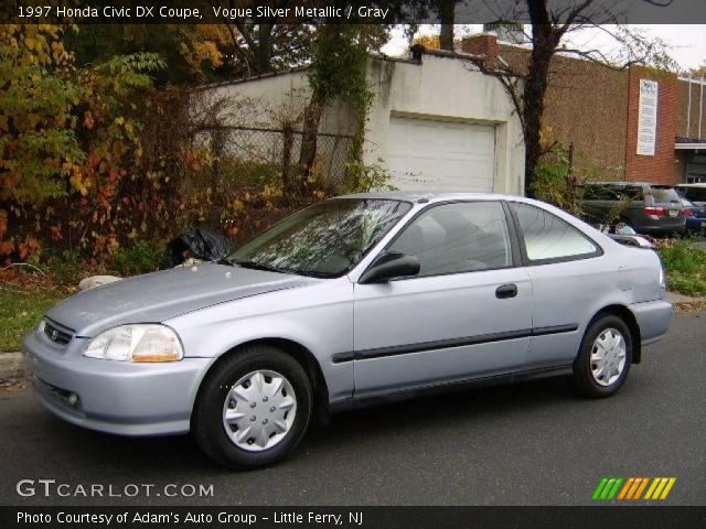 vogue silver metallic 1997 honda civic dx coupe gray interior vehicle. Black Bedroom Furniture Sets. Home Design Ideas