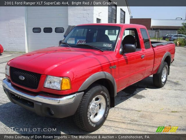 bright red 2001 ford ranger xlt supercab 4x4 dark graphite interior vehicle. Black Bedroom Furniture Sets. Home Design Ideas