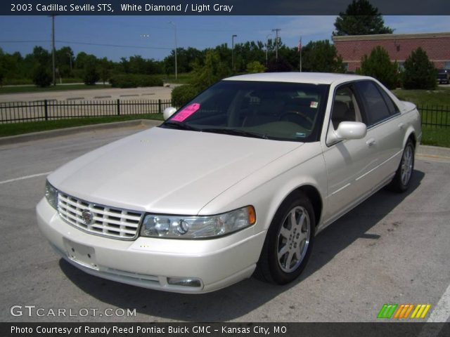 white diamond 2003 cadillac seville sts light gray interior vehicle archive. Black Bedroom Furniture Sets. Home Design Ideas