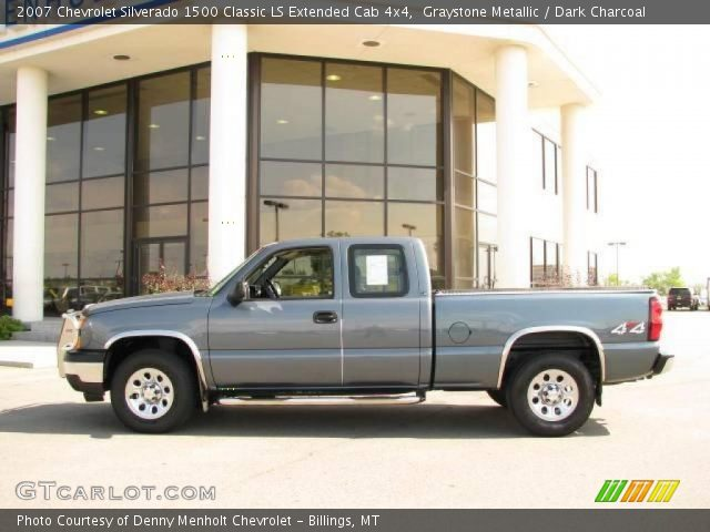 2007 Chevrolet Silverado 1500 Classic LS Extended Cab 4x4 in Graystone Metallic