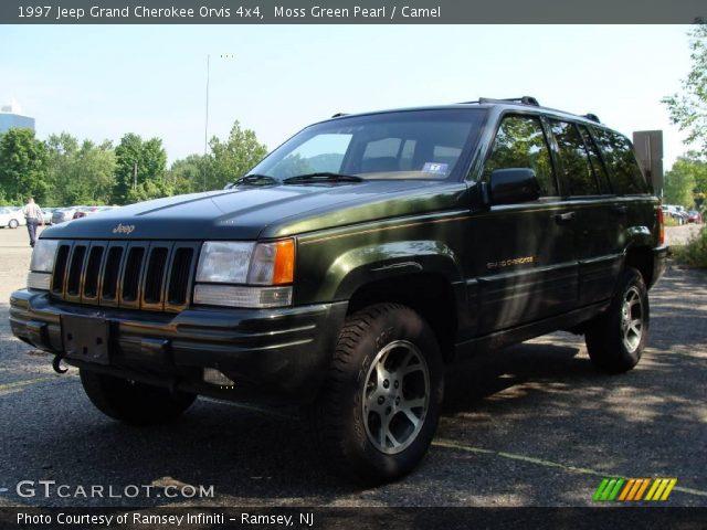 Moss green pearl 1997 jeep grand cherokee orvis 4x4 - 1997 jeep grand cherokee interior ...