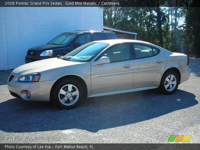 2008 Pontiac Grand Prix Sedan in Gold Mist Metallic