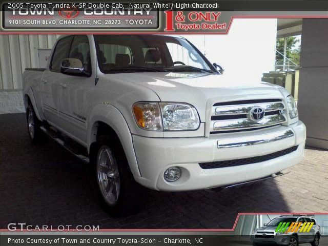 natural white 2005 toyota tundra x sp double cab light charcoal interior. Black Bedroom Furniture Sets. Home Design Ideas