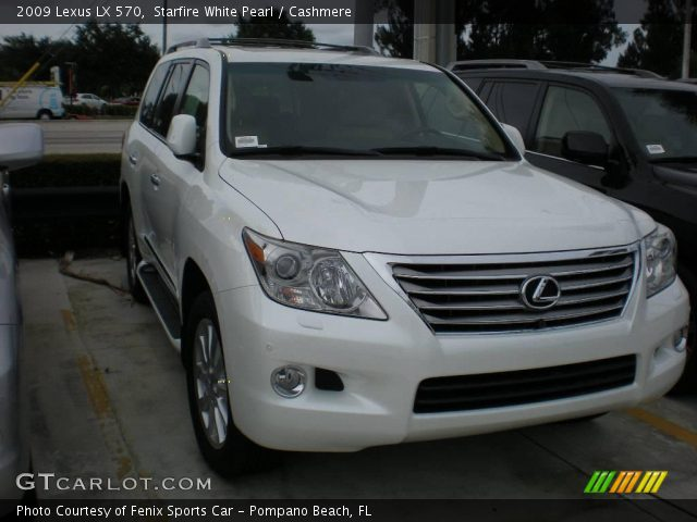 starfire white pearl 2009 lexus lx 570 cashmere. Black Bedroom Furniture Sets. Home Design Ideas