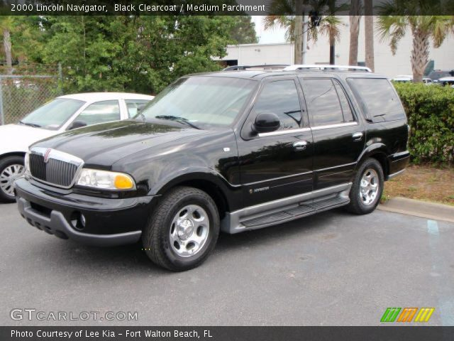 Black Clearcoat 2000 Lincoln Navigator Medium Parchment Interior Vehicle