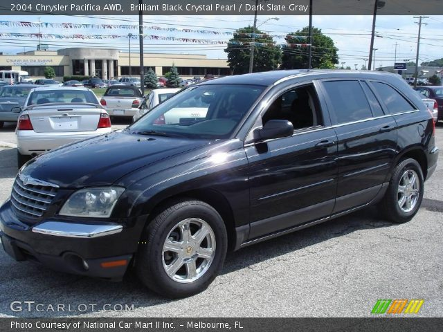 2004 Chrysler Pacifica Black 2004 Chrysler Pacifica Awd in