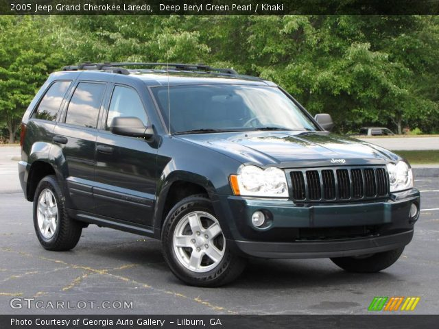 deep beryl green pearl 2005 jeep grand cherokee laredo. Black Bedroom Furniture Sets. Home Design Ideas