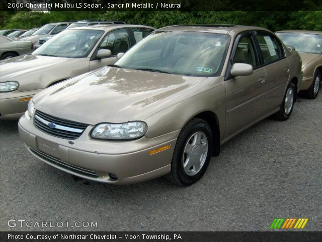 Sandrift Metallic - 2000 Chevrolet Malibu LS Sedan - Neutral ...