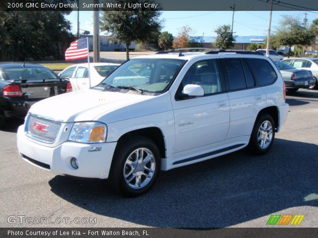 Summit White 2006 GMC Envoy Denali with Light Gray interior 2006 GMC Envoy