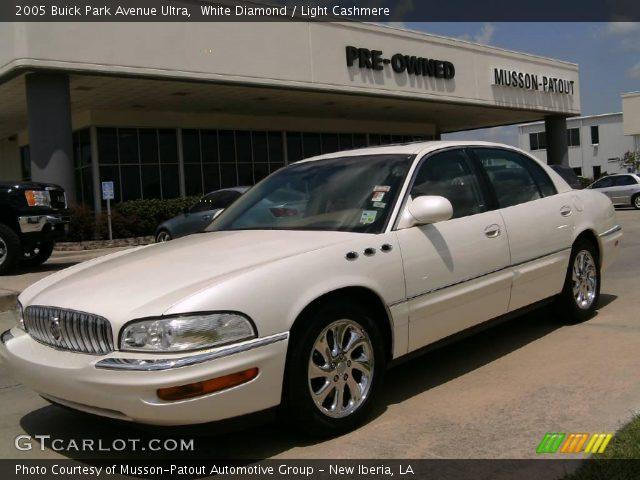 white diamond 2005 buick park avenue ultra light cashmere interior vehicle. Black Bedroom Furniture Sets. Home Design Ideas