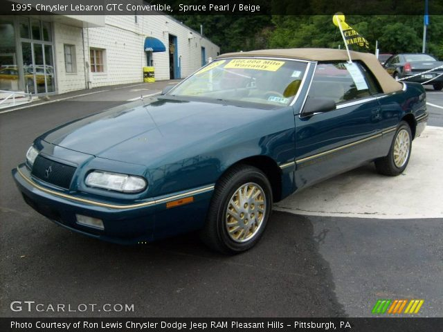 1995 Chrysler Lebaron Gtc Convertible In Spruce Pearl