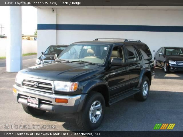 black 1996 toyota 4runner sr5 4x4 beige interior. Black Bedroom Furniture Sets. Home Design Ideas