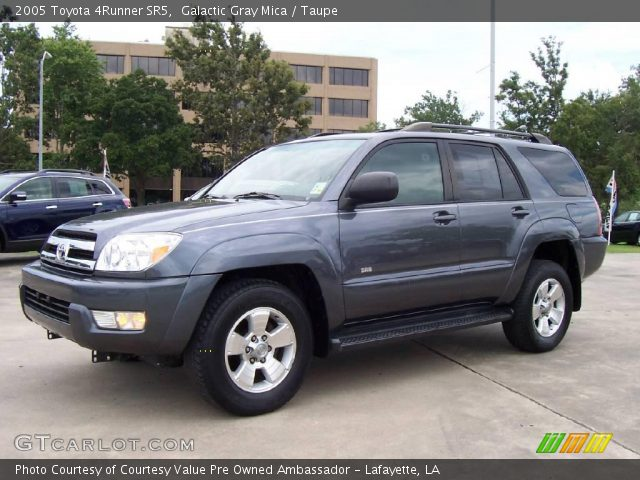 Galactic Gray Mica 2005 Toyota 4runner Sr5 Taupe Interior Vehicle Archive