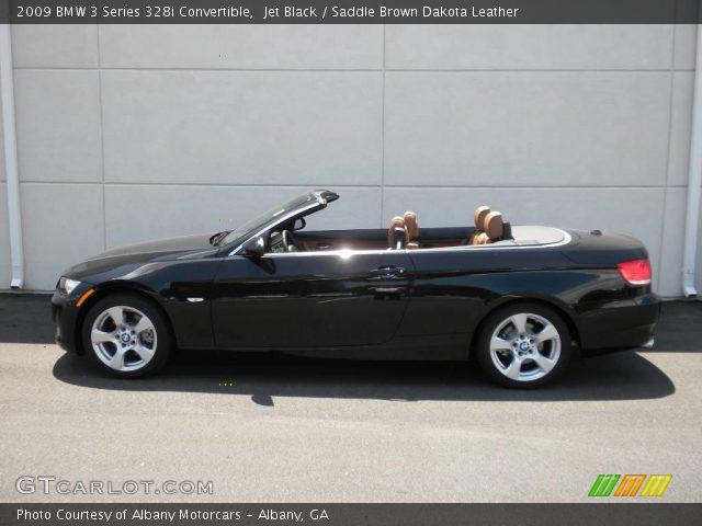 jet black 2009 bmw 3 series 328i convertible saddle. Black Bedroom Furniture Sets. Home Design Ideas