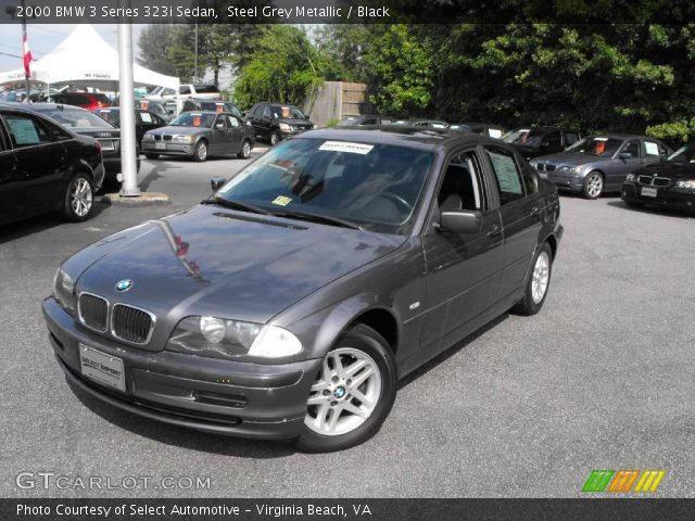 2000 BMW 3 Series 323i Sedan in Steel Grey Metallic