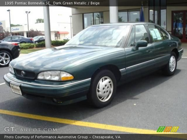 1995 Pontiac Bonneville SE in Dark Green Metallic. Click to see large ...