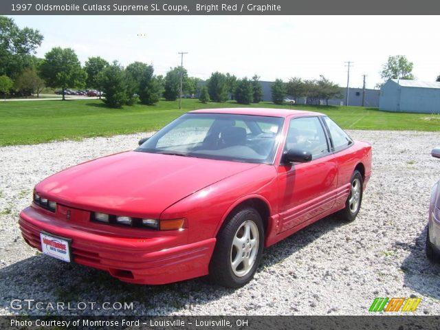 bright red 1997 oldsmobile cutlass supreme sl coupe. Black Bedroom Furniture Sets. Home Design Ideas