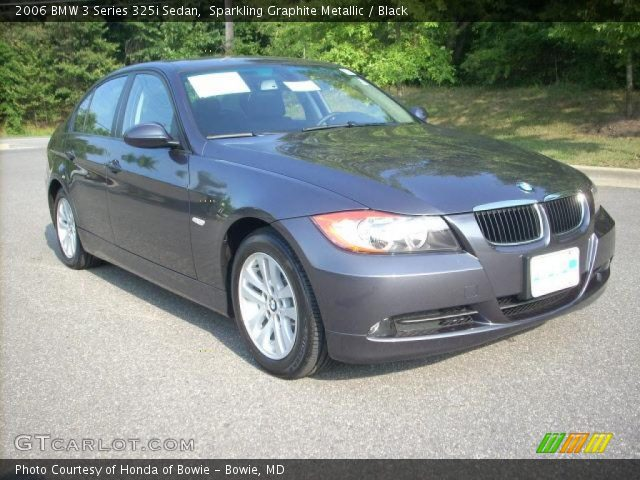 sparkling graphite metallic 2006 bmw 3 series 325i sedan. Black Bedroom Furniture Sets. Home Design Ideas