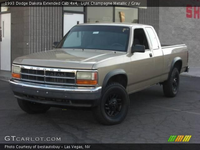 on 1991 Dodge Dakota Le