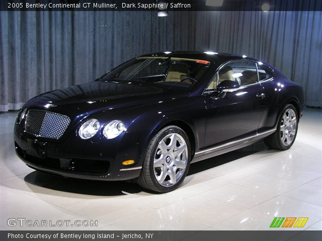 on 2005 Bentley Continental Gt Vin