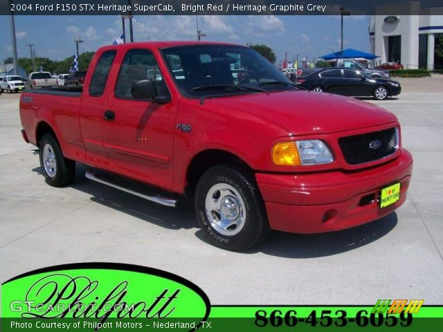 bright red 2004 ford f150 stx heritage supercab. Black Bedroom Furniture Sets. Home Design Ideas