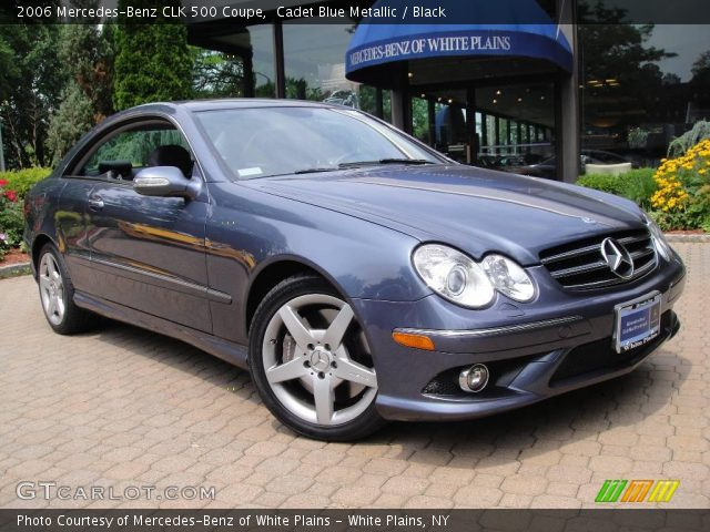 Cadet blue metallic 2006 mercedes benz clk 500 coupe for 2006 mercedes benz clk 500