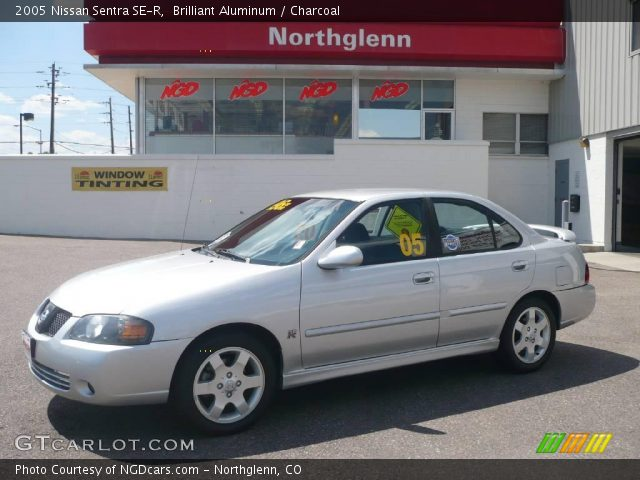 2005 Nissan Sentra SE-R in Brilliant Aluminum. Click to see large ...
