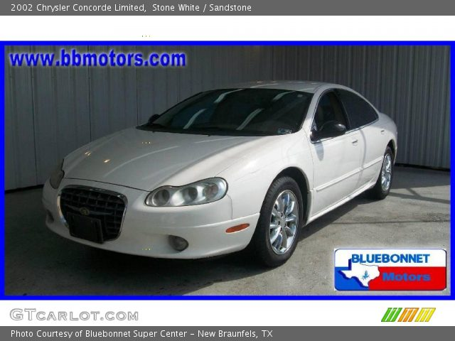 2002 Chrysler Concorde Limited in Stone White. Click to see large ...