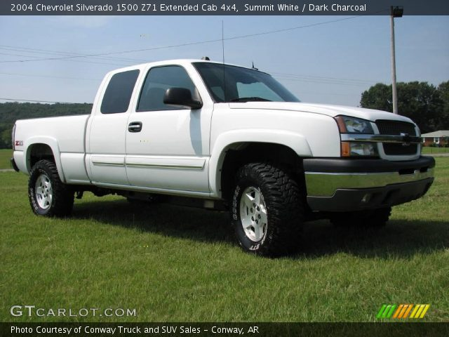 summit white 2004 chevrolet silverado 1500 z71 extended. Black Bedroom Furniture Sets. Home Design Ideas