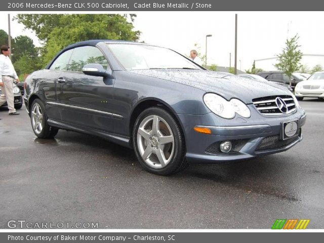 Cadet blue metallic 2006 mercedes benz clk 500 cabriolet for 2006 mercedes benz clk 500